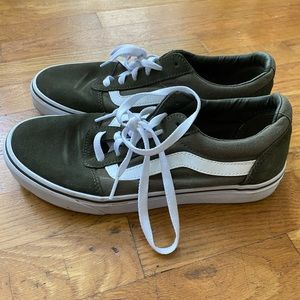 Vans Olive Green Sneakers